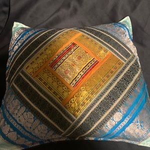 Beautifully Stitched Throw Pillow